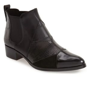 COACH Suffolk Patchwork Leather Chelsea Boot